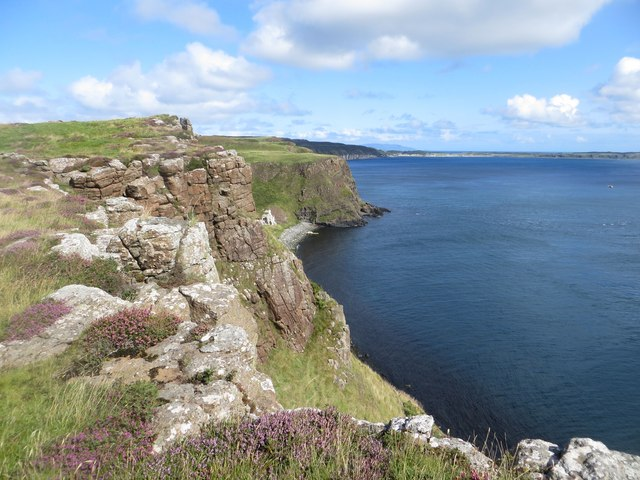Cliffs at Stroanlea Point