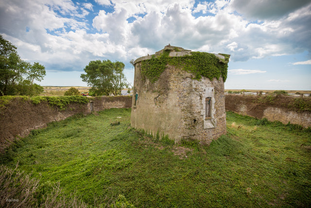 Martello Tower at Rye Harbour