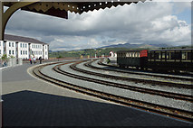 SH5738 : Porthmadog Harbour Station by Stephen McKay