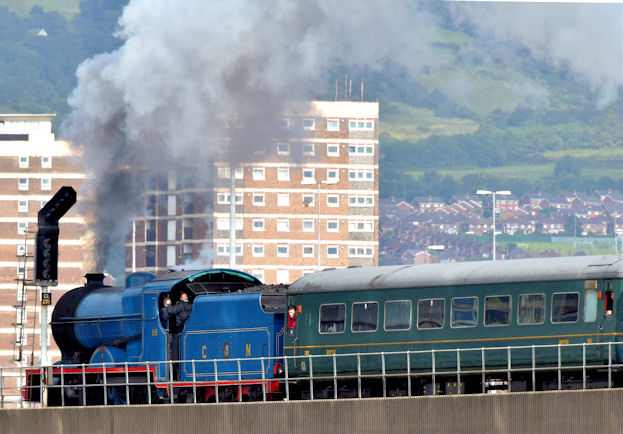 Steam locomotive no 85, Belfast - August 2014(2)