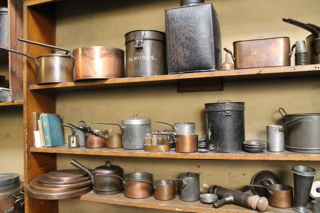 The kitchen at Brodsworth Hall