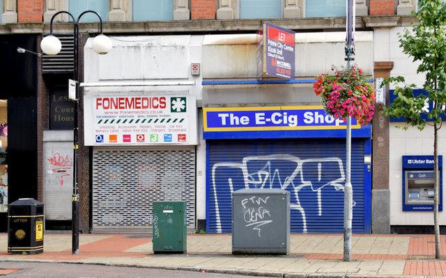 No 33 Royal Avenue, Belfast (August 2014)