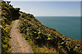 SS5047 : North Devon : South West Coast Path by Lewis Clarke