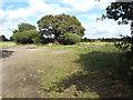 SP1781 : Site of a pond east of Woodhouse Farm, near Catherine-de-Barnes by Robin Stott