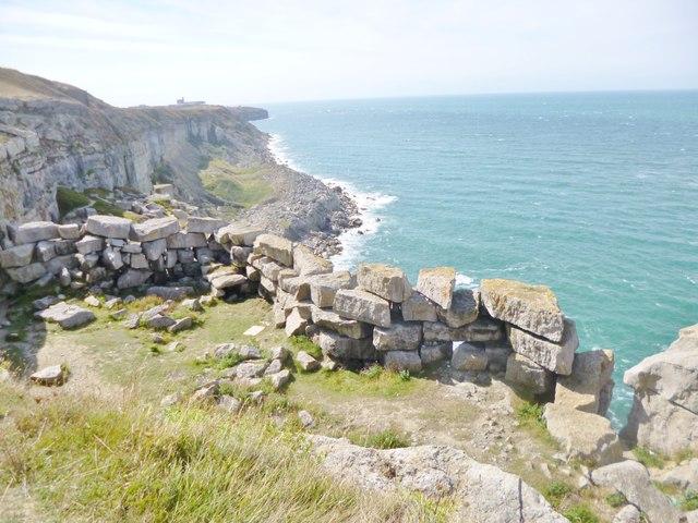Weston, disused quarry workings