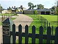 TF8643 : Private drive to Model Farm, Holkham Park by Richard Humphrey