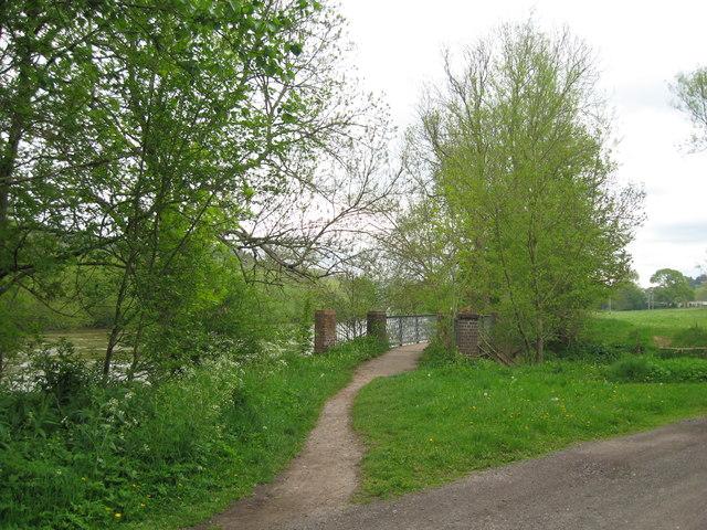 Tributary bridge-Dowles, Worcs