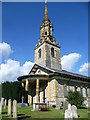 TQ6653 : St Lawrence Church, Mereworth by Marathon