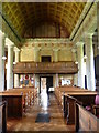 TQ6653 : Interior of St Lawrence Church, Mereworth by Marathon