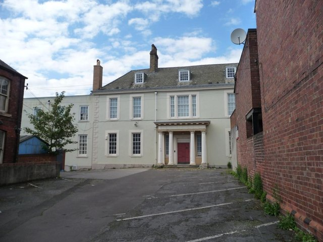 Entrance on south side, Nether Hall