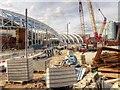 SJ8498 : Manchester Victoria Station Redevelopment (August 2014) by David Dixon