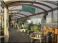 SP9313 : Covered Walkway at Bulbourne Garden Gentre, near Tring by Chris Reynolds