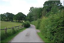 TQ4543 : Route of a Roman Road by N Chadwick