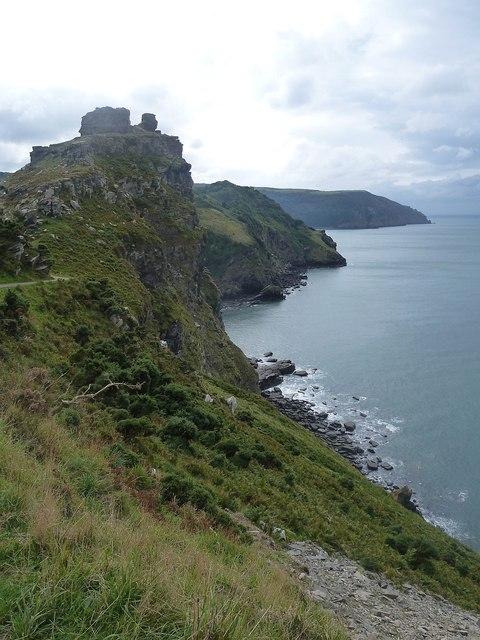 Valley of Rocks coastline