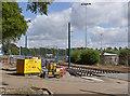 SK5437 : Tramway alongside University Boulevard by Alan Murray-Rust