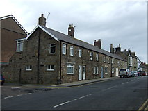 NU2410 : Houses on Northumberland Street, Alnmouth  by JThomas