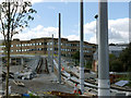SK5538 : QMC viaduct, eastern ramp by Alan Murray-Rust
