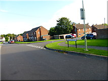 SU7349 : Junction of Kersley Crescent and Pither Road by Shazz