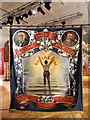 SE3406 : Hickleton Main Colliery NUM  Banner by Neil Theasby