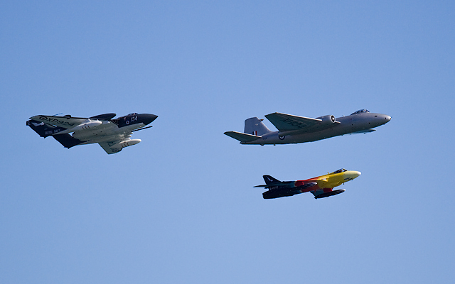 Bournemouth Air Festival 2014 - historic flypast