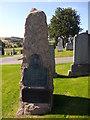 NJ6201 : Pink granite headstone of 1st Baron Craigmyle by Stanley Howe