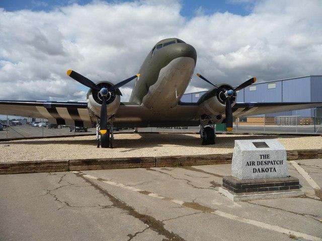 The Air Despatch Dakota at RAF Brize Norton