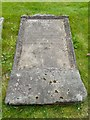 NS5063 : Stone from the Gaelic Chapel Graveyard by Lairich Rig