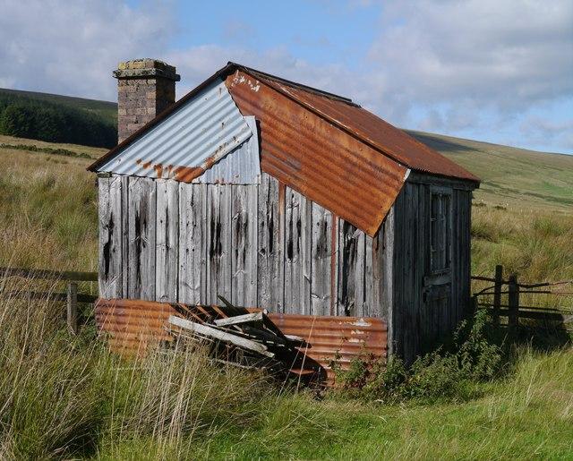 Platelayer's Hut Near Saughtree