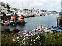 SW8132 : Lifeboats at Falmouth Lifeboat Station by Rod Allday