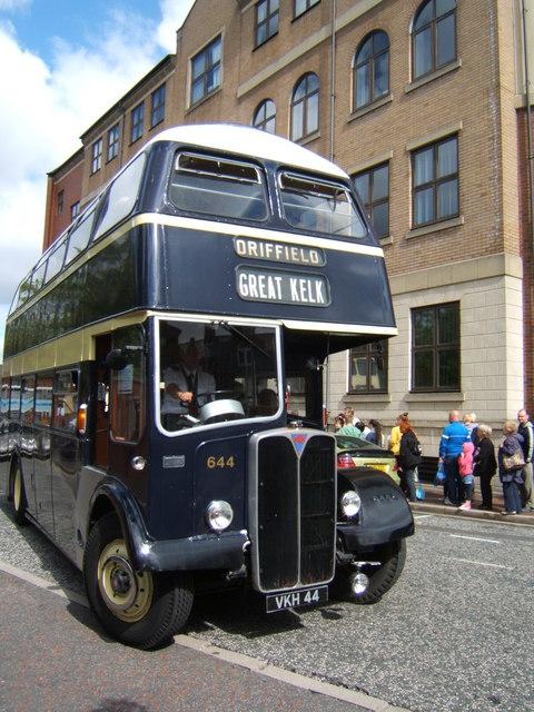 East Yorkshire 1956 AEC Regent V vintage bus