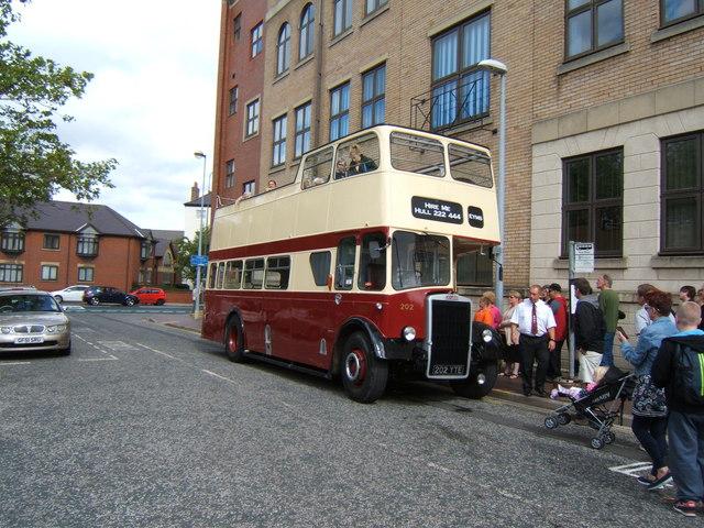 East Yorkshire Leyland Titan open top bus