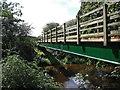 SJ7367 : River Dane Footbridge by Stephen Burton