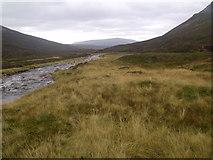 NN9193 : River Eidart below waterfall by ian shiell