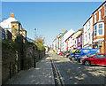 NZ2742 : Durham: up Crossgate by John Sutton