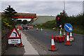 SD4764 : Temporary traffic lights, Slyne Road (A6) by Ian Taylor