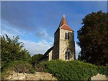 TL3278 : Church in Pidley, Cambridgeshire by Richard Humphrey