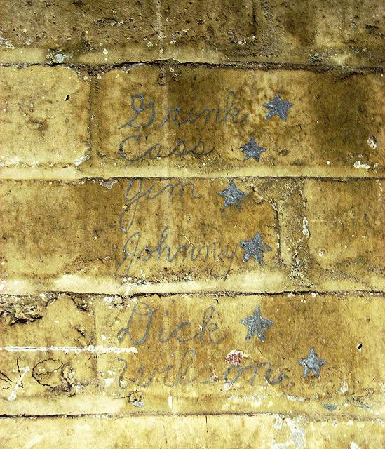 WW2 USAAF graffiti