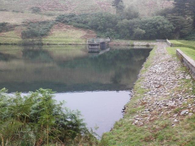 The dam, Bray Reservoir