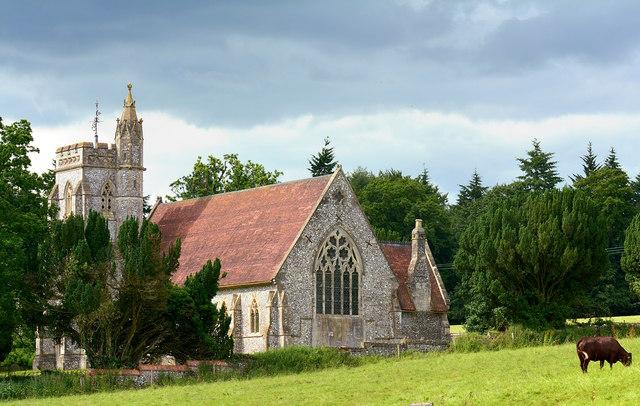 Christ Church, Fosbury, Wiltshire