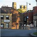 NZ2642 : Durham: towards the city by John Sutton