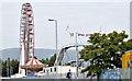 J3171 : Ferris wheel, Balmoral, Belfast - September 2014(2) by Albert Bridge