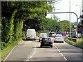 SU4768 : Southbound A339 Approaching Robin Hood Roundabout by David Dixon
