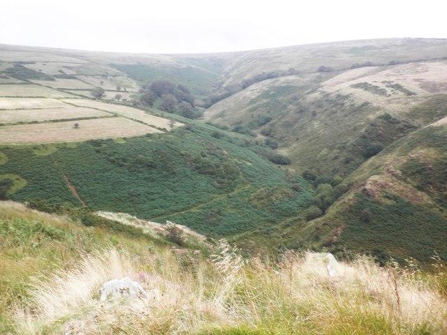 Valley, below Longstone Barrow