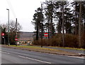 SO6416 : No Entry signs at a triangular junction, Hawkwell  by Jaggery