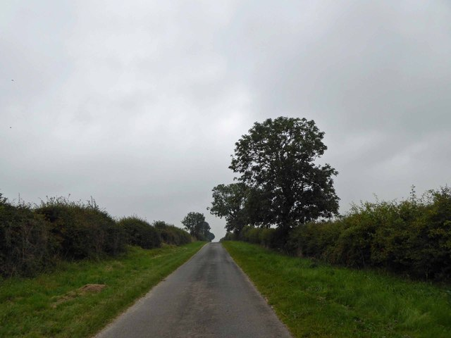 Lincolnshire Wolds lane