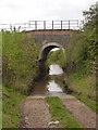 SK7782 : Schrimshire's Road railway bridge by Alan Murray-Rust