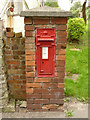 SK8180 : Cottam postbox ref DN22 40 by Alan Murray-Rust