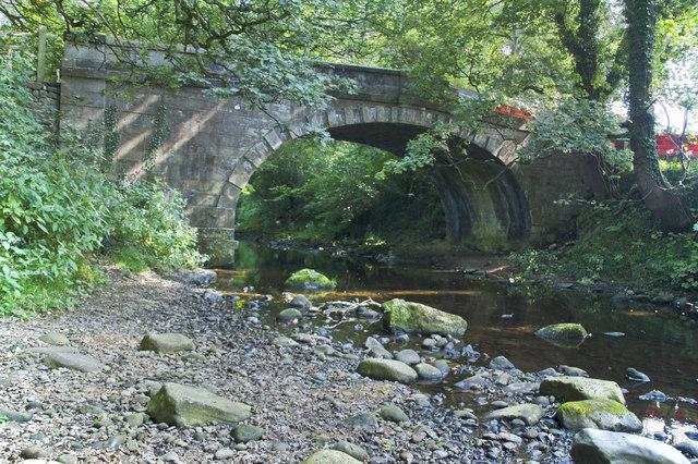 Walmsley Bridge over the River Brock