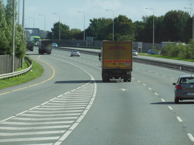 The N7 / E20 at junction 7