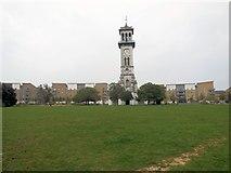 TQ3084 : Clock Tower, Caledonian Park by Paul Gillett